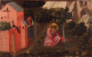 Angelico, Fra. The Conversion of St. Augustine (painting).