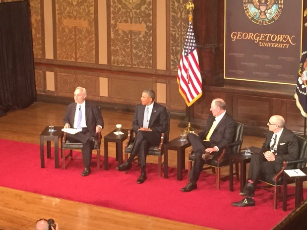 Reflections on Georgetown Event with PresidentObama